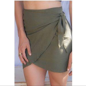 Belle the Label Ziggy Wrap Skirt
